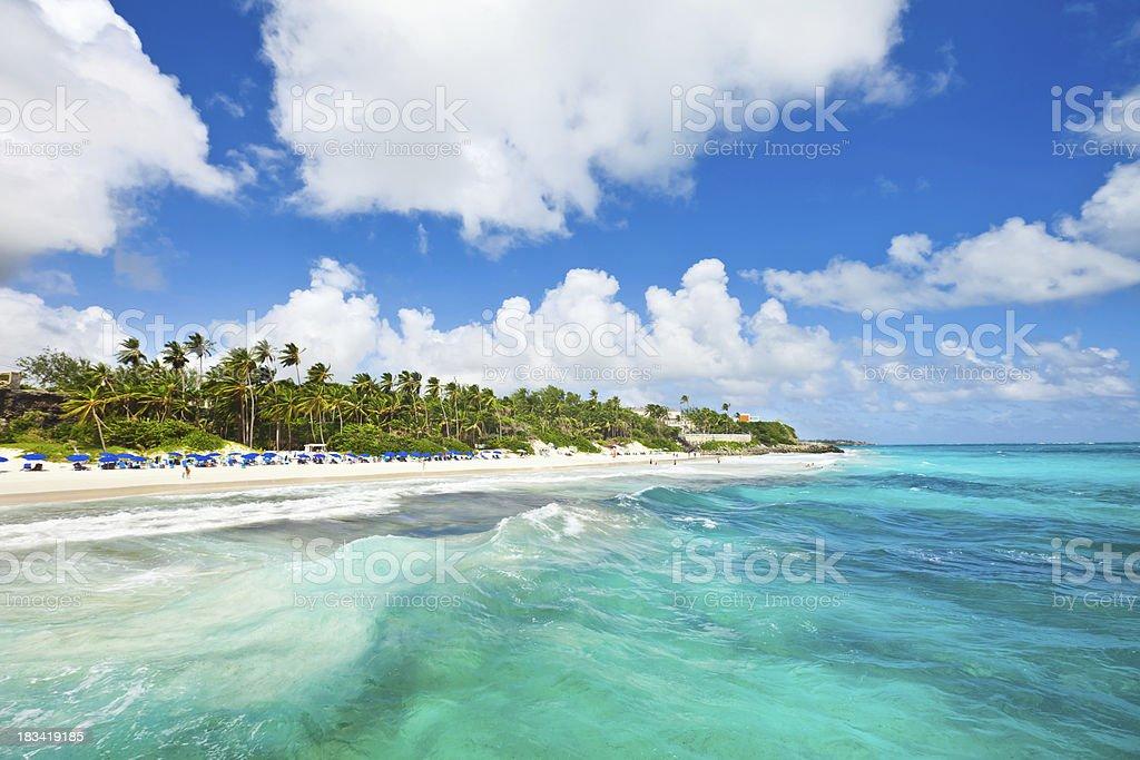 Crane Beach, Barbados - foto de acervo