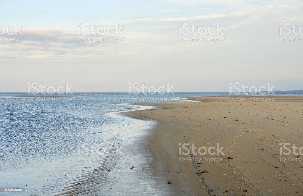 Crane Beach coastal scenery royalty-free stock photo