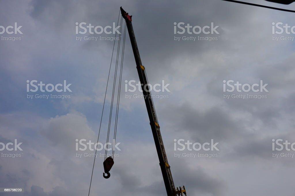 Crane car foto stock royalty-free
