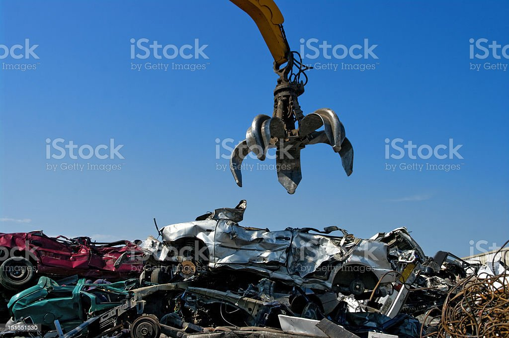 crane cars stock photo