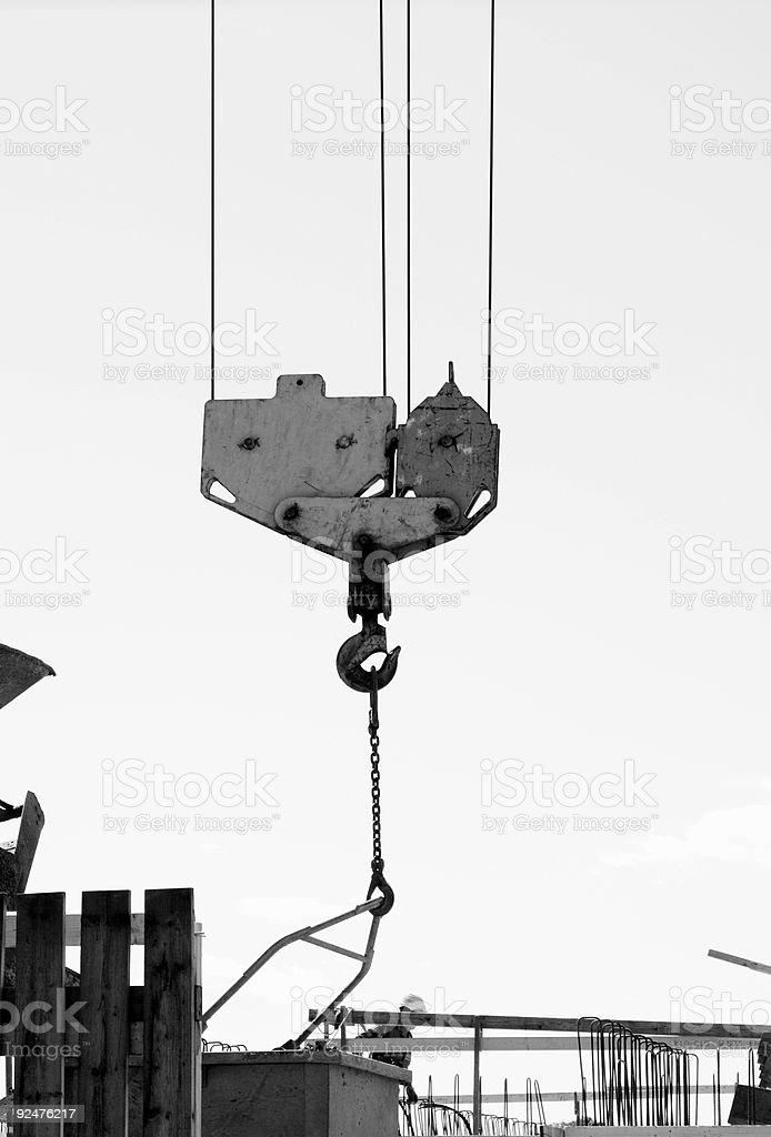 crane detail royalty-free stock photo