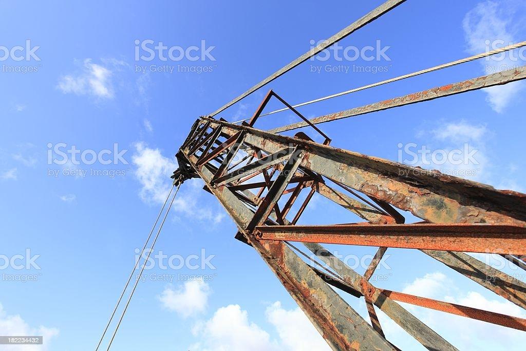 Crane jib royalty-free stock photo