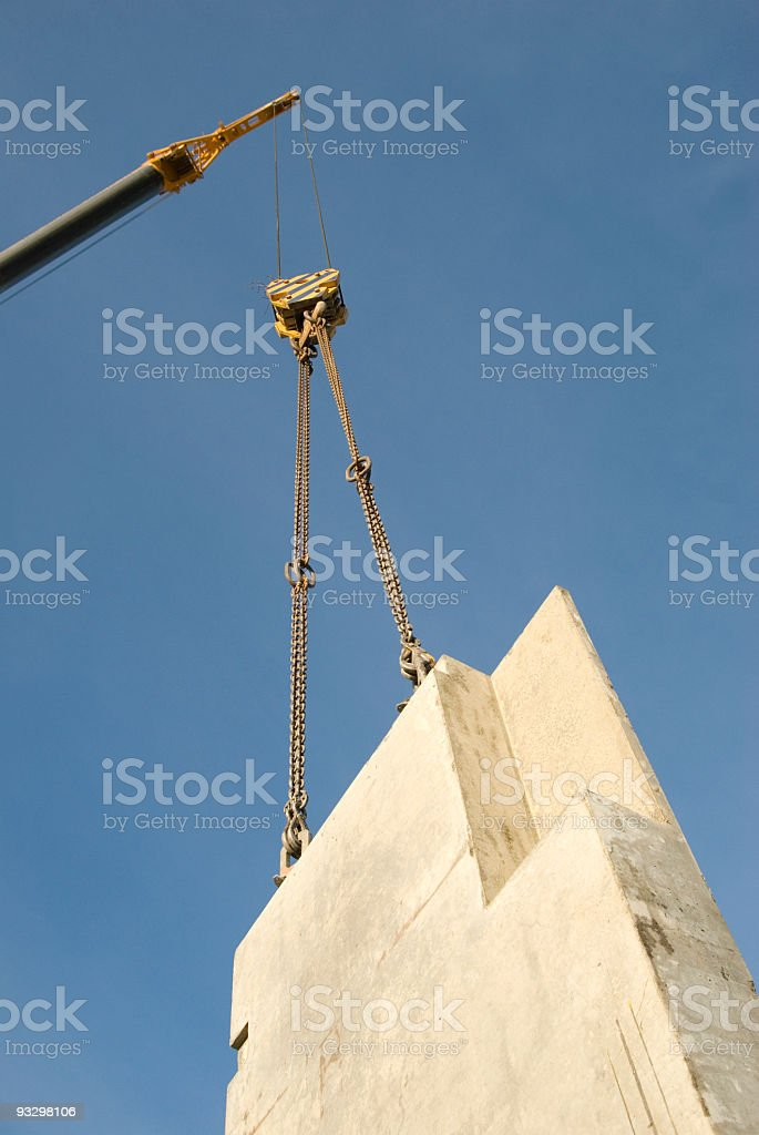 crane lift heavy royalty-free stock photo