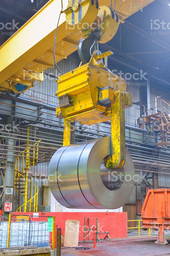 crane carga de metal - foto de stock
