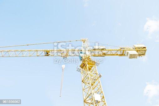 istock Crane On A Construction Site 961556562