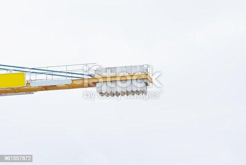 istock Crane On A Construction Site 961557872