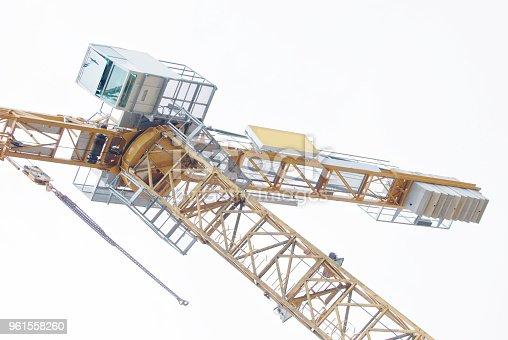 istock Crane On A Construction Site 961558260