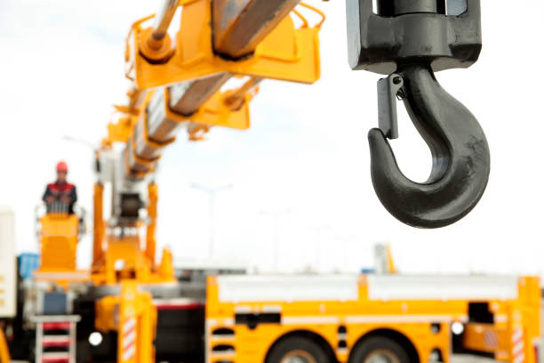 Crane Operator Crane Operator mobile crane stock pictures, royalty-free photos & images