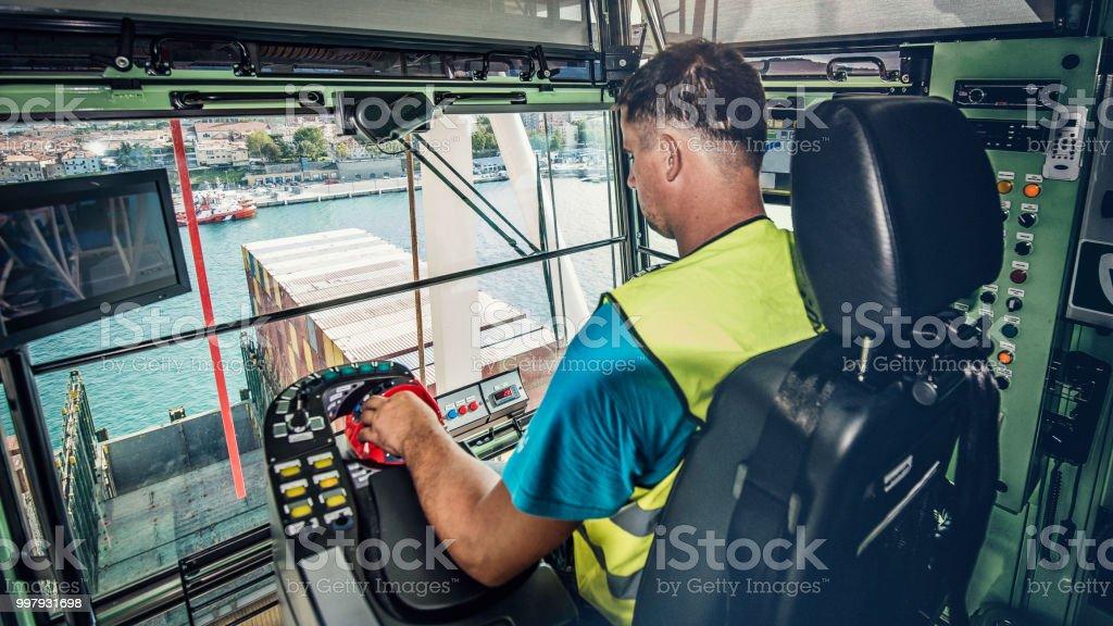Crane operator – Foto
