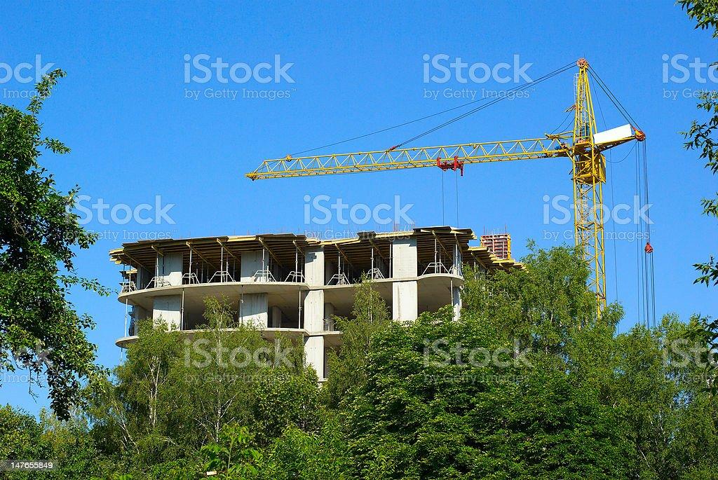 crane royalty-free stock photo