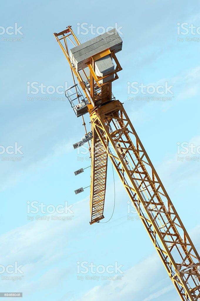 Crane Lizenzfreies stock-foto