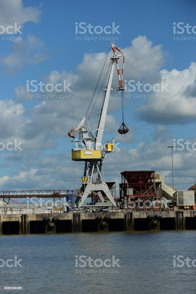 Grue Port De Saintnazaire Stock Photo More Pictures Of Cargo