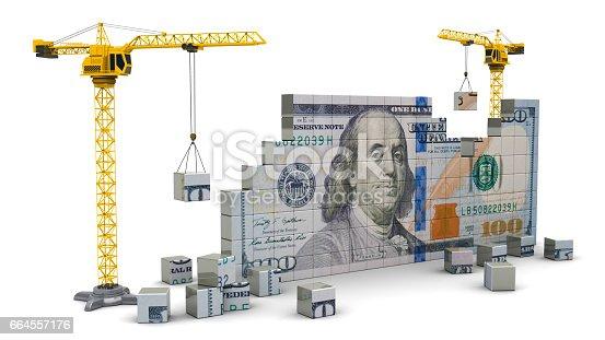 istock cranes building money 664557176