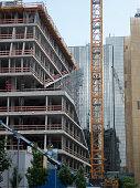 Cranes in Berlin city centre