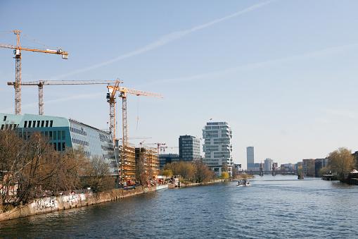 Cranes in Berlin