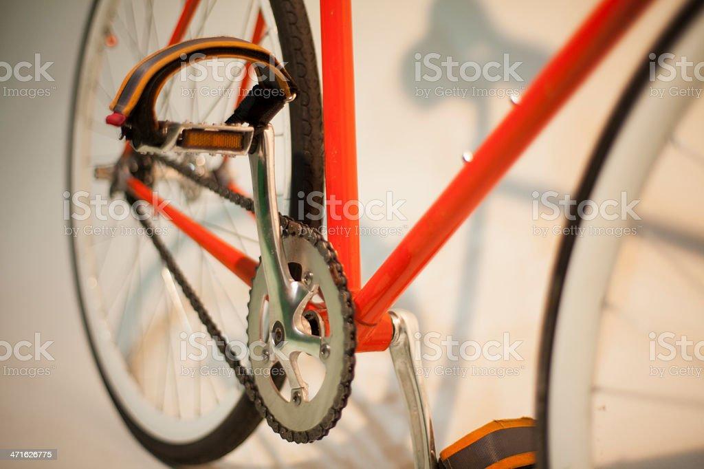 crank bike fixie royalty-free stock photo