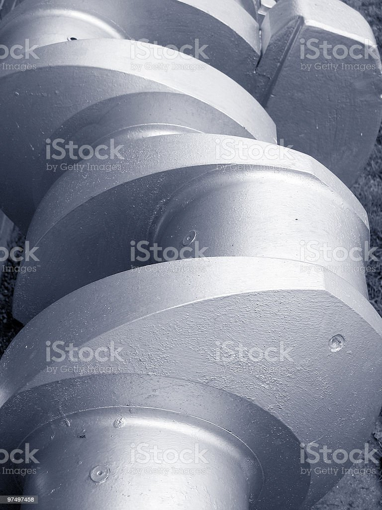 crankshaft royalty-free stock photo