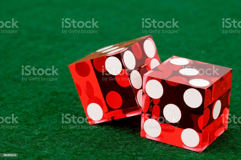 Craps Background royalty-free stock photo