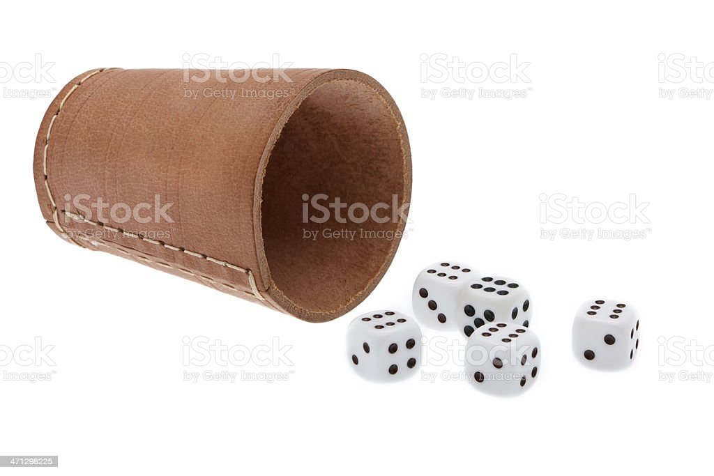 Craps stock photo