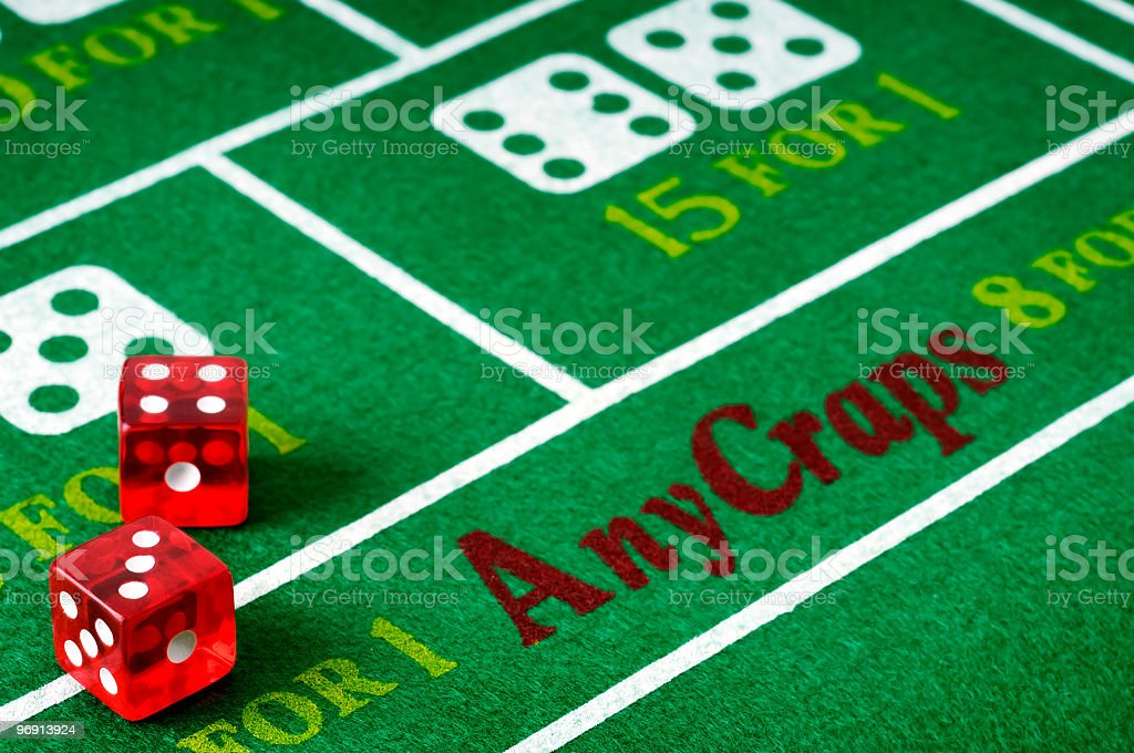 Craps royalty-free stock photo