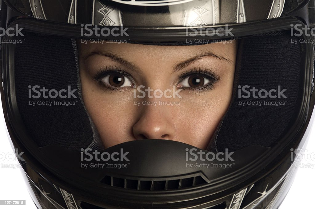 Crash Helmet royalty-free stock photo