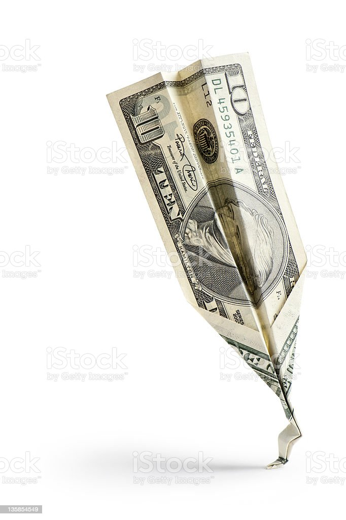 crash money royalty-free stock photo
