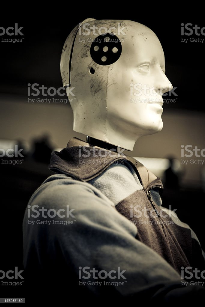 crash test dummy I stock photo