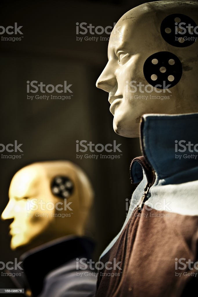 crash test dummy stock photo