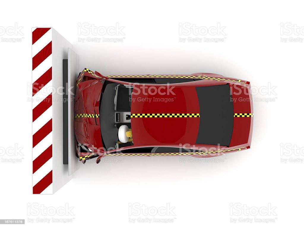 Crash Test royalty-free stock photo