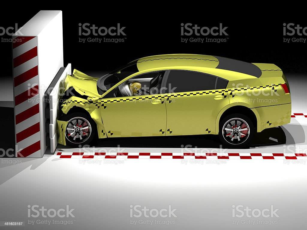 Crash Test stock photo
