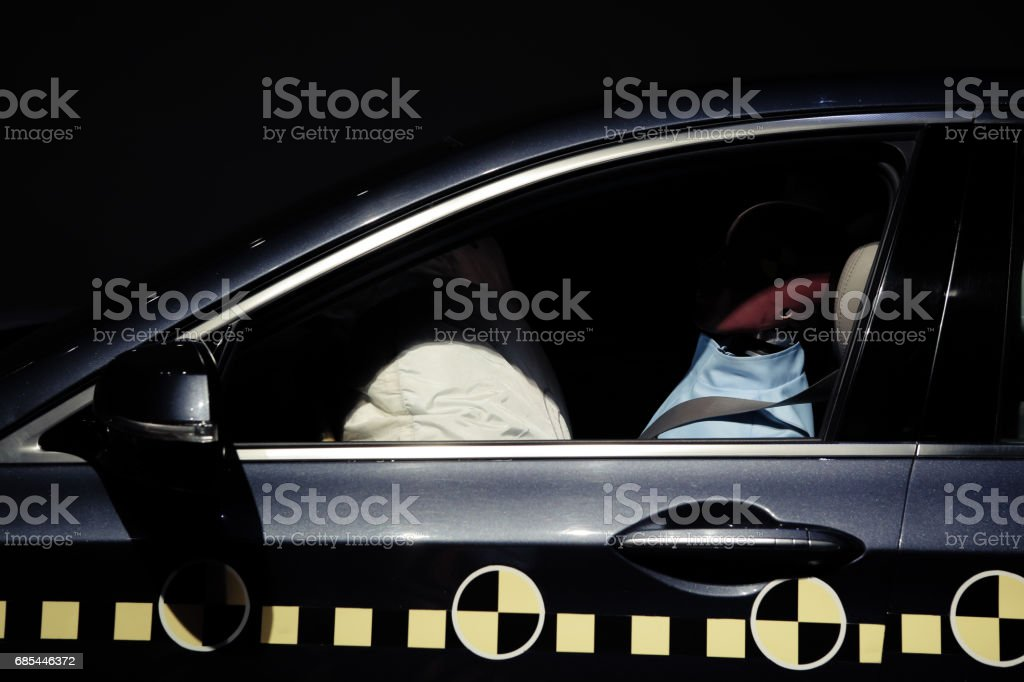crash text dummy stock photo