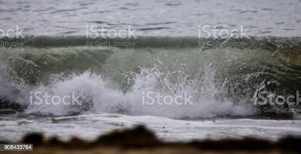Photo of Crashing Onshore