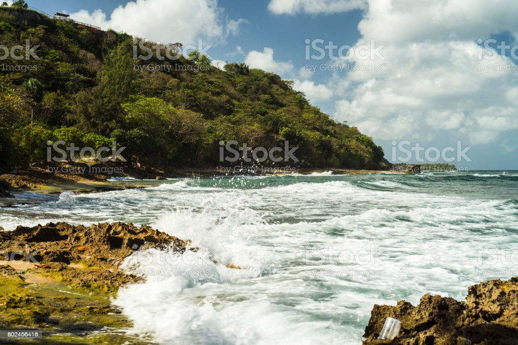 Crashing Surf stock photo