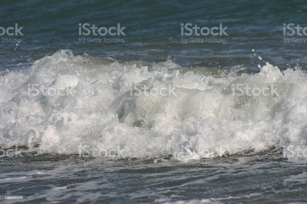 Crashing Wave stock photo
