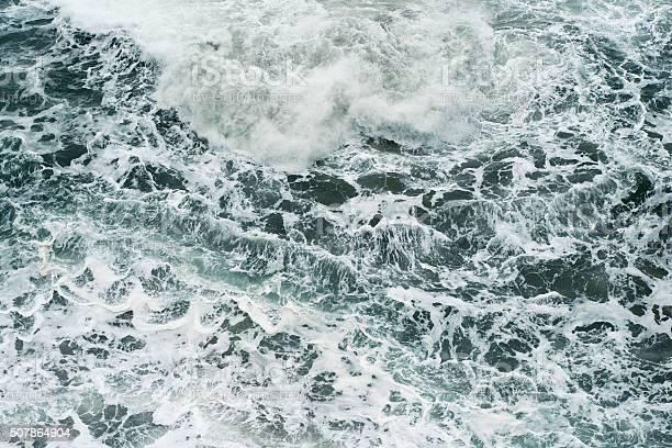 Crashing Waves Stock Photo - Download Image Now