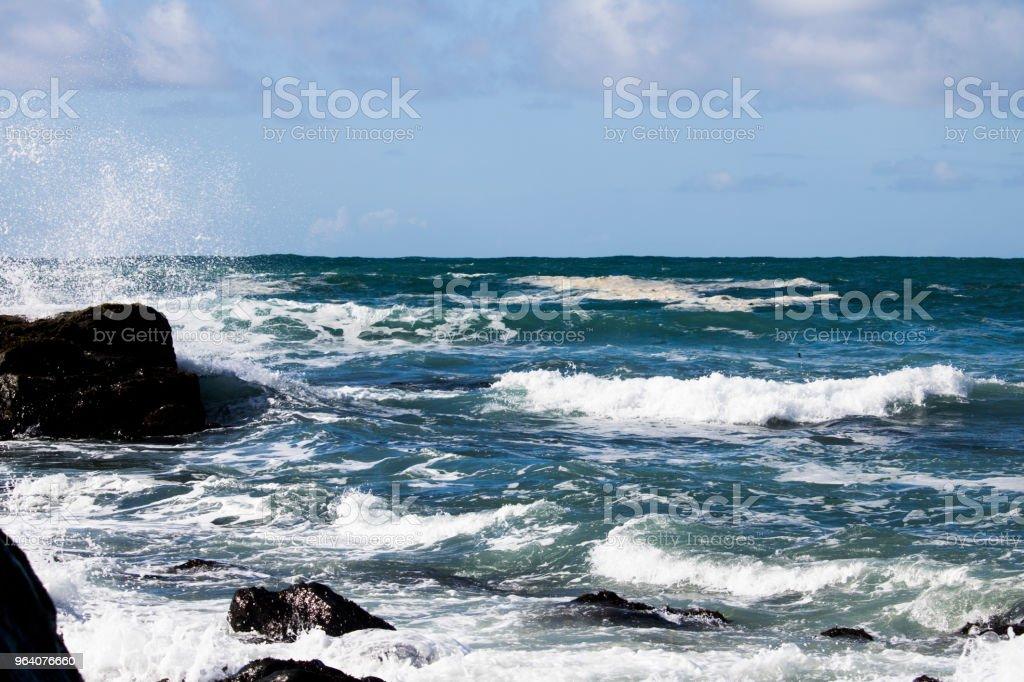 Crashing Waves - Royalty-free Beauty In Nature Stock Photo