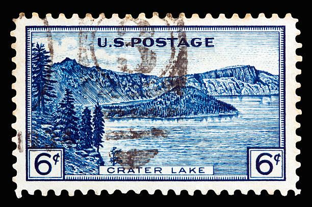 Crater Lake 1934 - foto stock