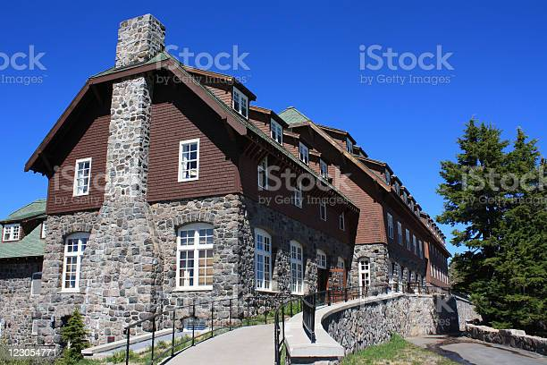 Crater Lake Lodge Or Stock Photo - Download Image Now