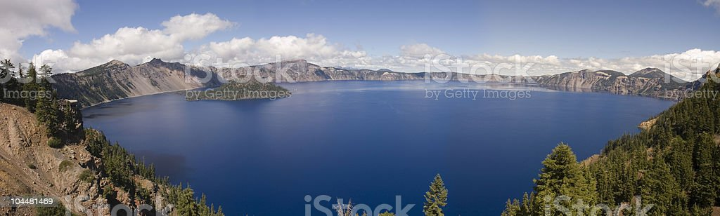 Crater Lake, Oregon royalty-free stock photo