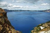Crater lake views hiking to Garfield peak