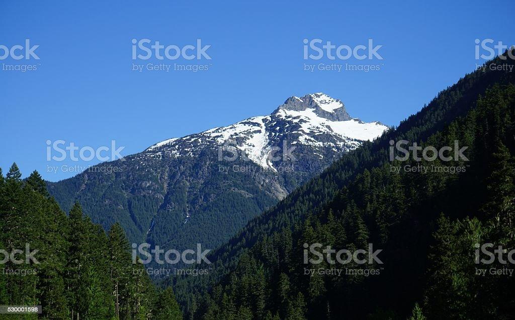 Crater Peak View stock photo