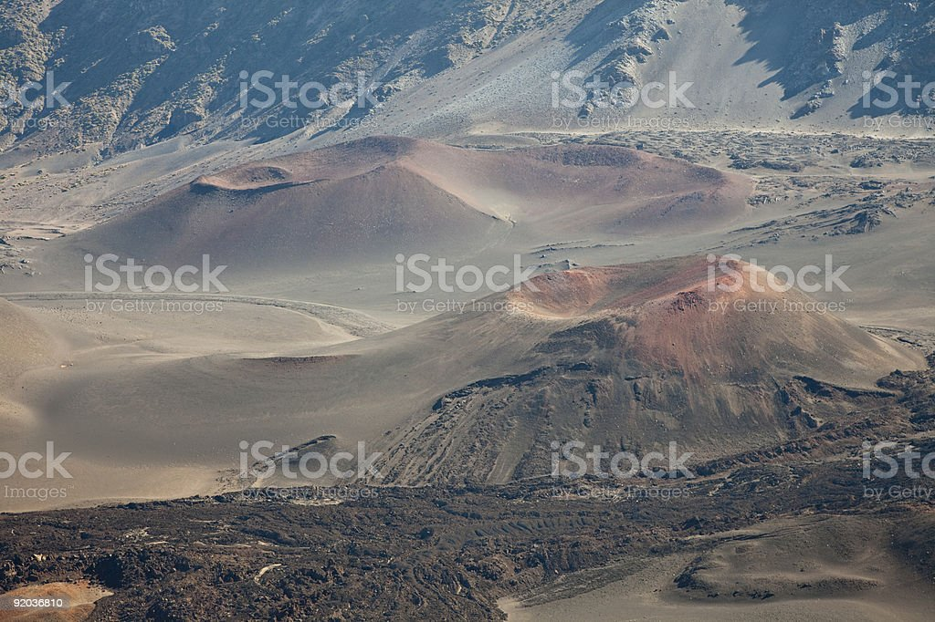 Craters stock photo