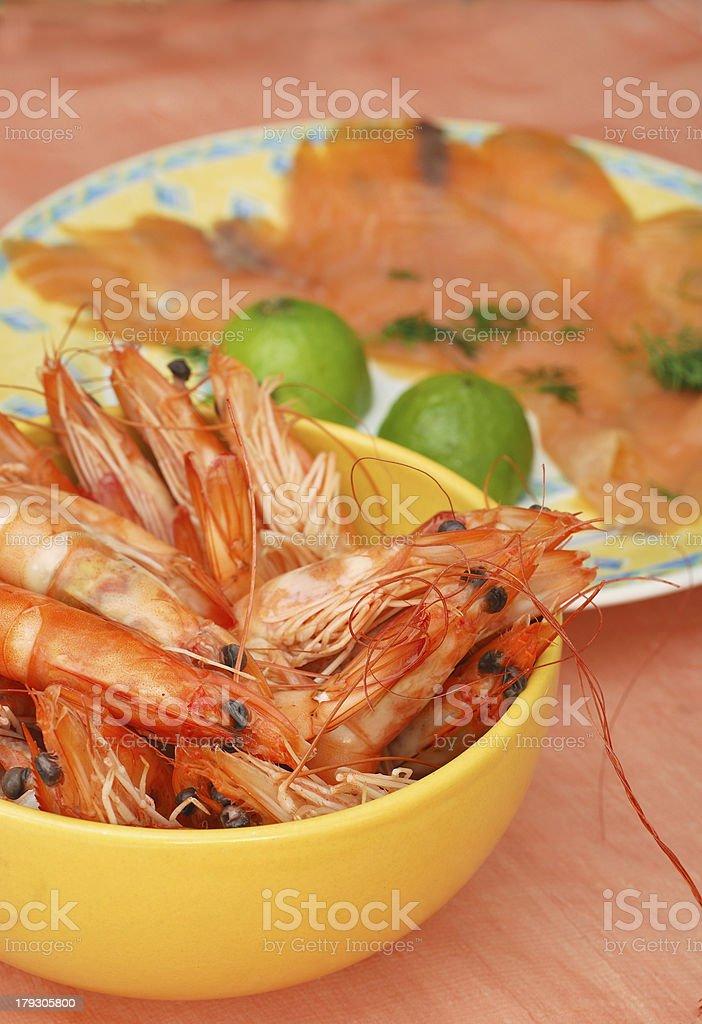 Crayfish - seafood royalty-free stock photo