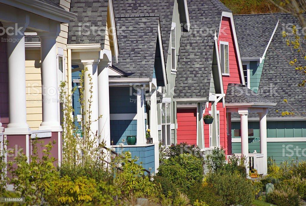 Crayola Neighborhood #3 royalty-free stock photo