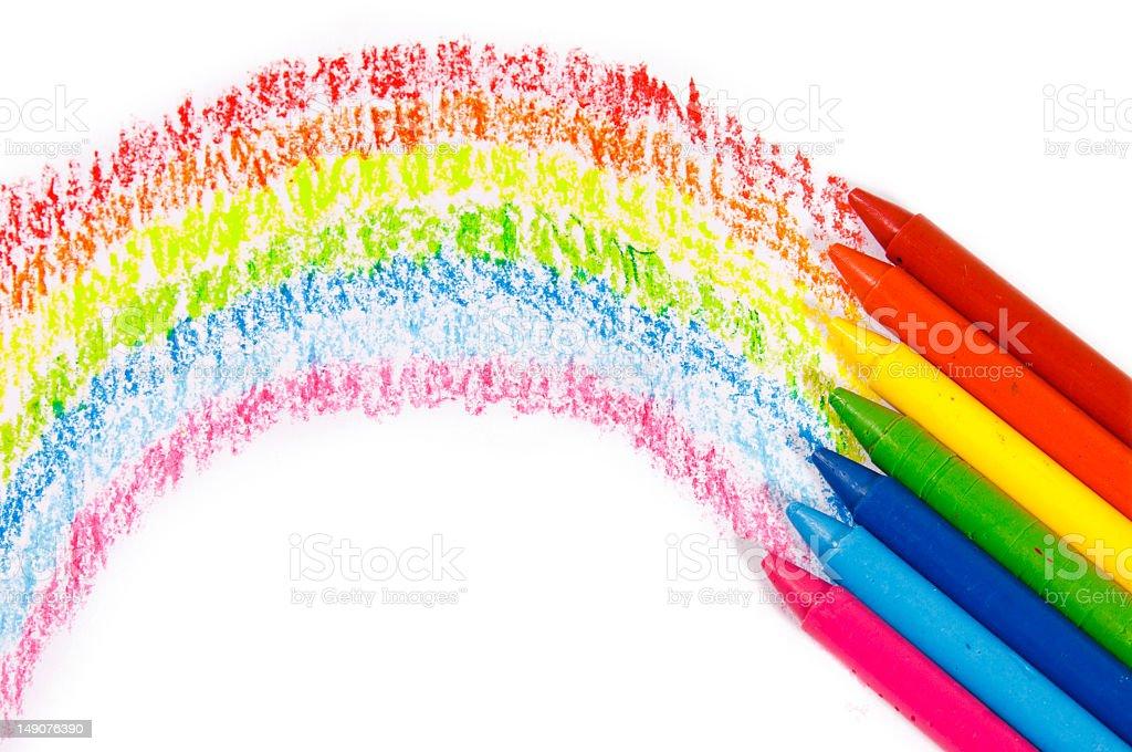 Connu Arcobaleno Colori Pastello Colori Per Bambini - Foto di Stock | iStock HD36