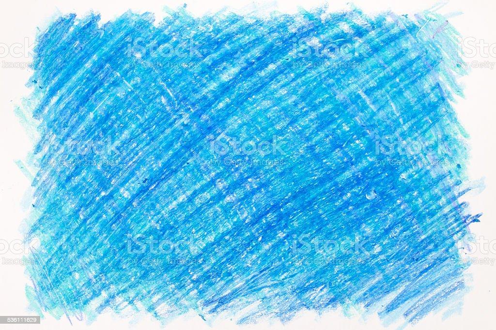 Crayon scribble stock photo