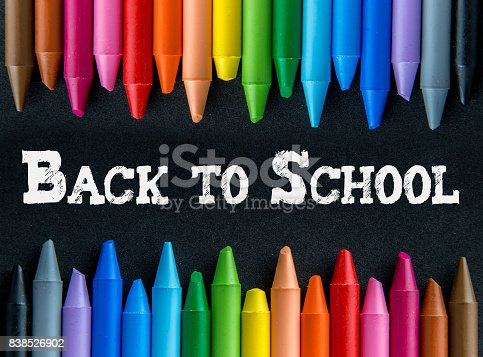 istock Crayons backgrounds 838526902