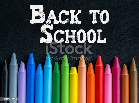 istock Crayons backgrounds 838527290
