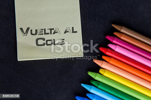 istock Crayons backgrounds 838535206
