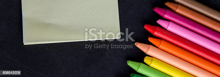 istock Crayons backgrounds 838543026